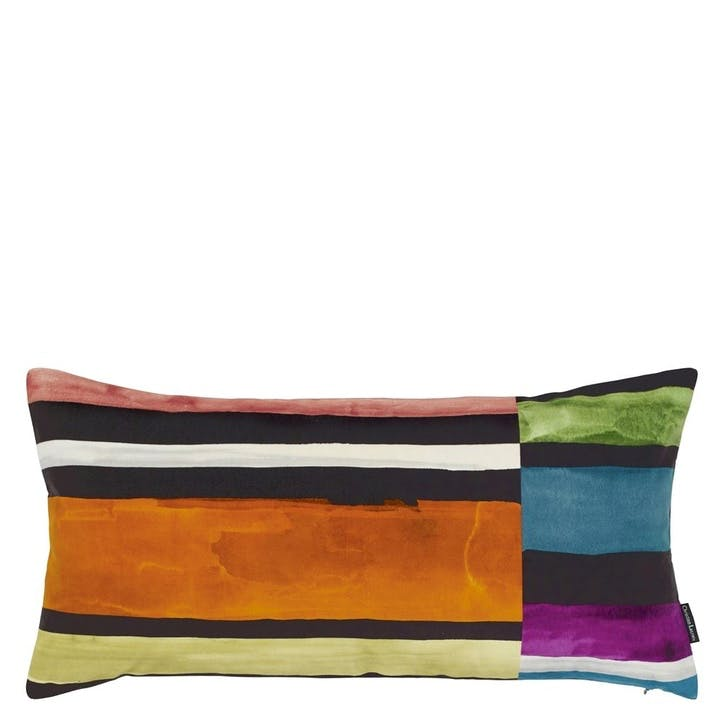 Sweet Night and Day Multicolore Rectangular Cushion