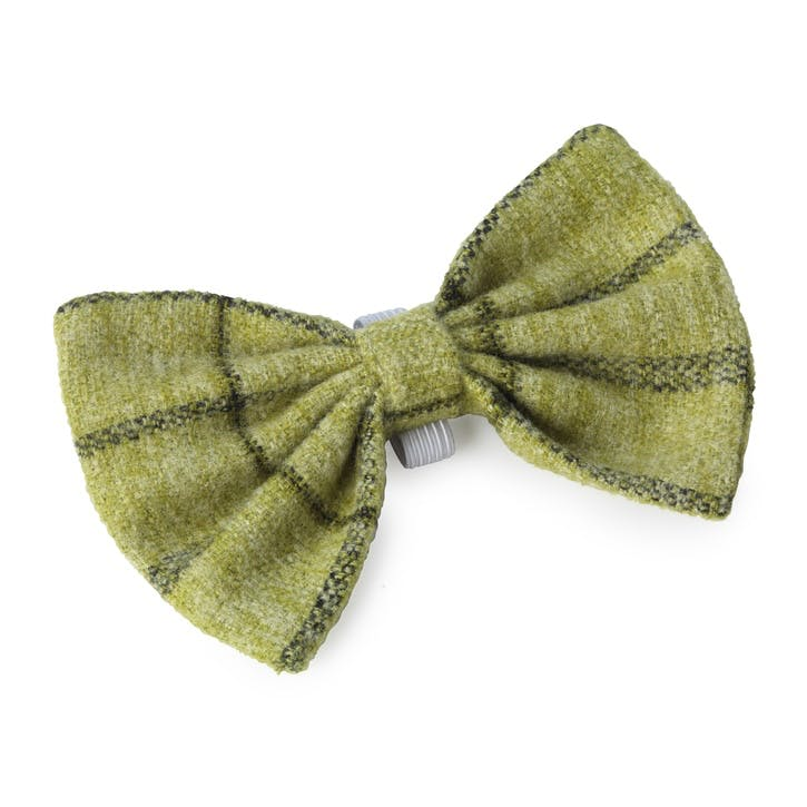 Tweed Bow Tie, Green