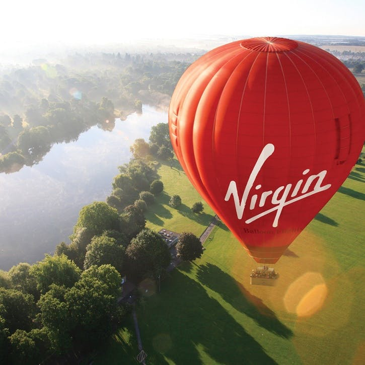 National Weekday Morning Balloon Flight Experience for Two