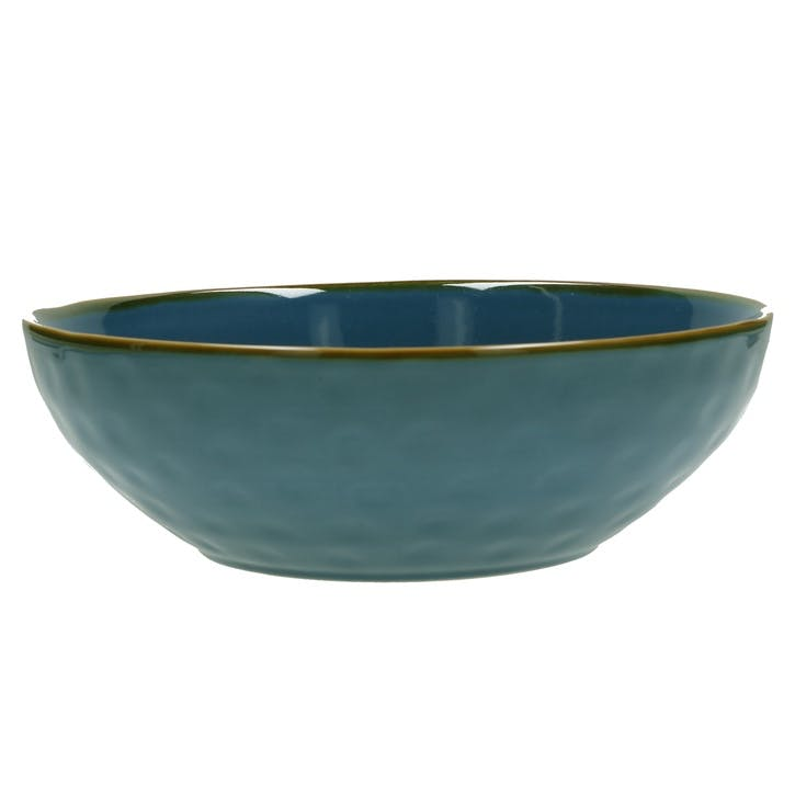 Concerto Salad Bowl, Blue