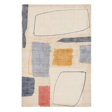 Composition Rug, 160 x 230cm, Multi