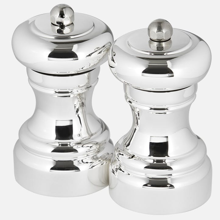 Sterling Silver Salt & Pepper Mill Set