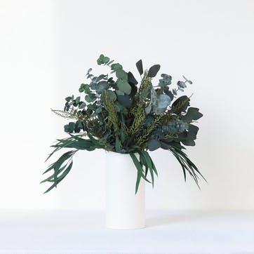 Hand-Tied Medium Bouquet, Greenery & Neutrals