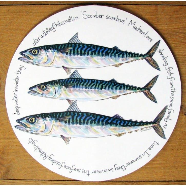 Mackerel Tablemat - 28cm