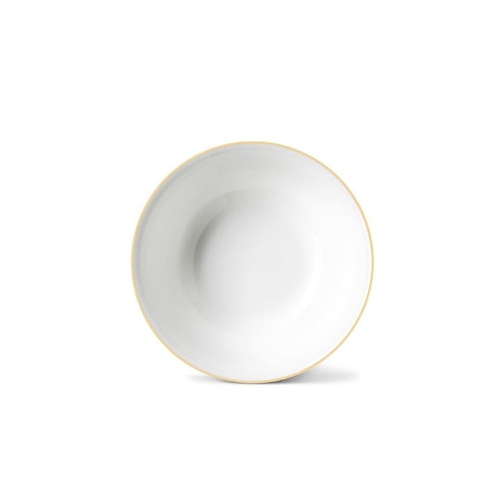 Rainbow Cereal Bowl, Gold