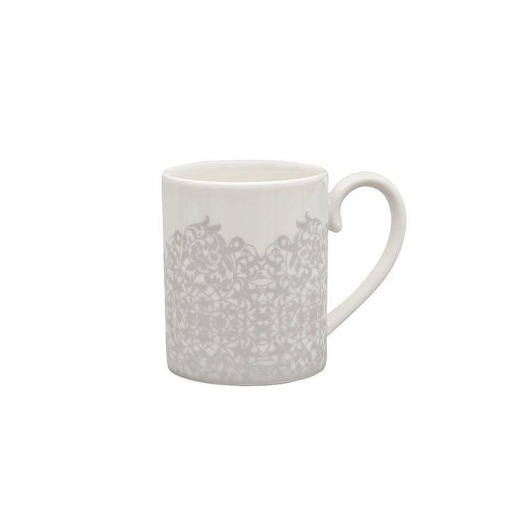 Filigree Silver Mug, 250ml