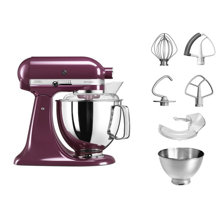 Artisan Stand Mixer with FREE Glass Mixing Bowl, 4.8L, Boysenberry