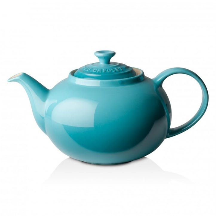 Stoneware Classic Teapot - 1.3L; Teal