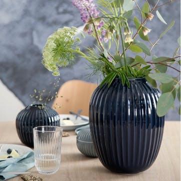 Hammershøi Vase, Large, Indigo