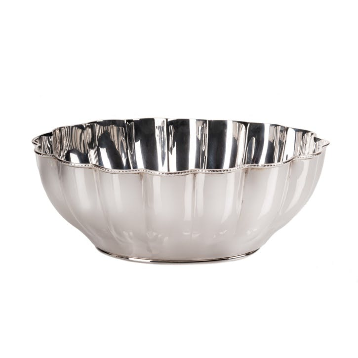 Lancaster Silver Plated Scalloped Bowl