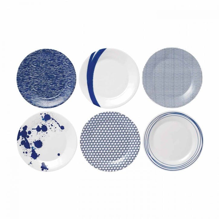 Pacific Side Plates, Set of 6