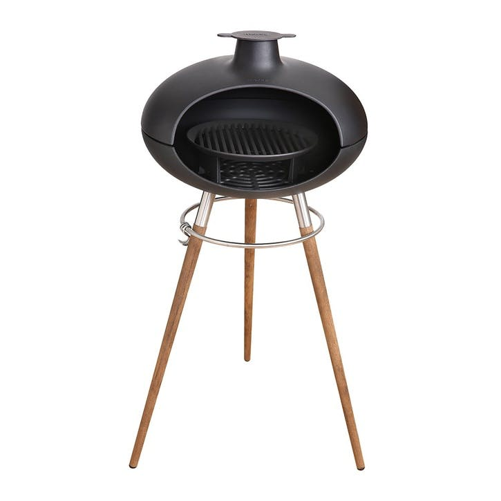 Forno Ii, Grill On Stand, Black