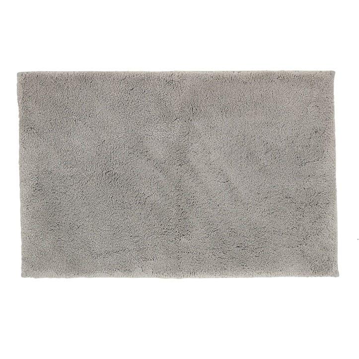 Deep Pile Bath Mat, Dove Grey