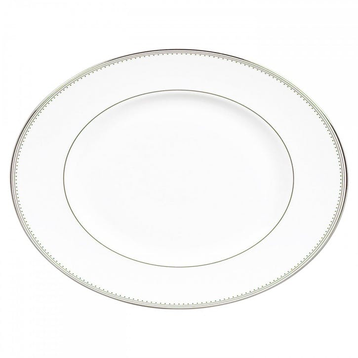 Grosgrain Oval Dish, Small