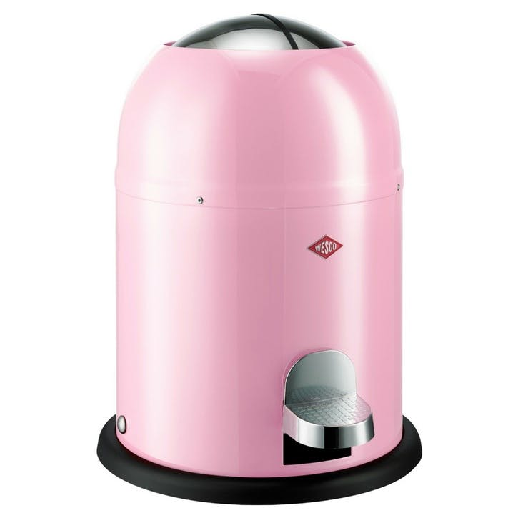 Single Master Bathroom Bin, Pink