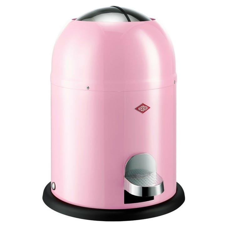 Single Master Bathroom Bin, Pink