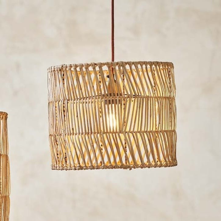 Banso Wicker Lampshade, Medium