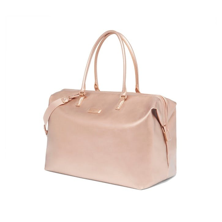 Miss Plume Weekend Bag, Pink Gold