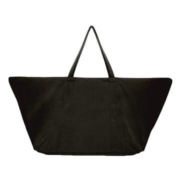 Canvas Big Long Bag, L100 x W50 x H35cm, Black