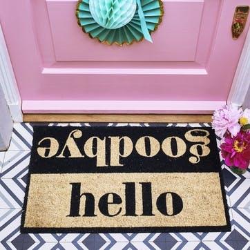 Hello Goodbye Doormat, 75 x 45cm