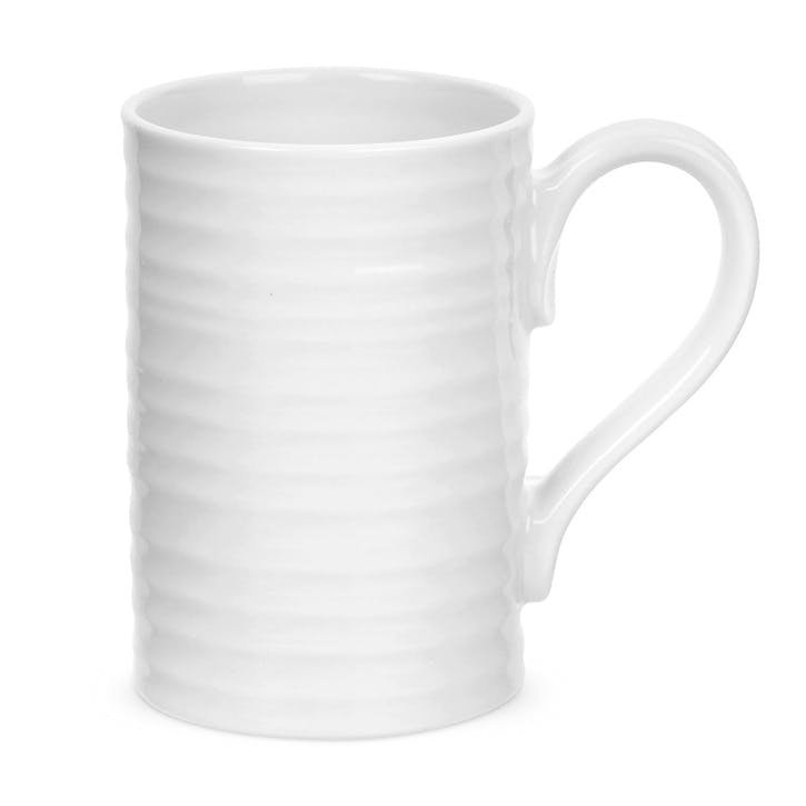Tall Mugs - Set of 4; White