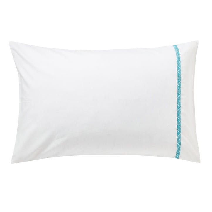 Jackfruit Standard Pillowcase, Eucalyptus