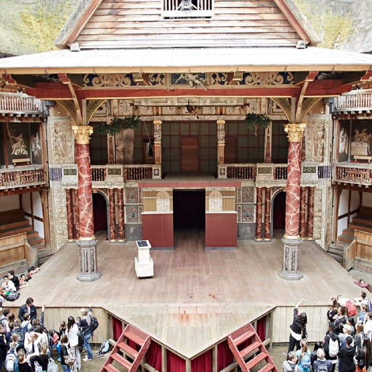Tour & Exhibition of Shakespeare's Globe Theatre for Two