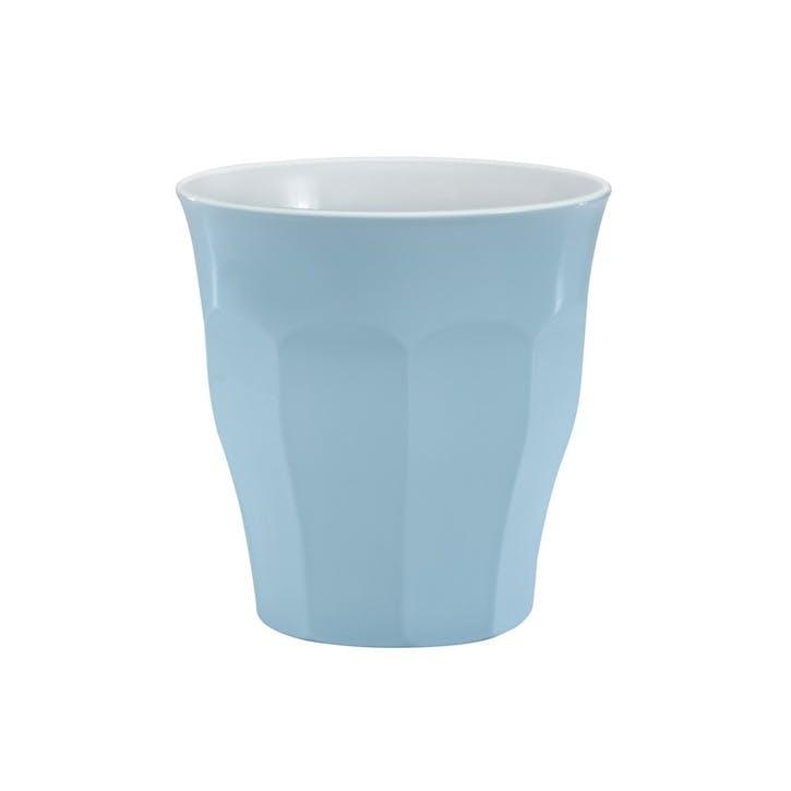 Picardie Pastel, Tumblers, Set Of 6, 220ml, Blue Pastel
