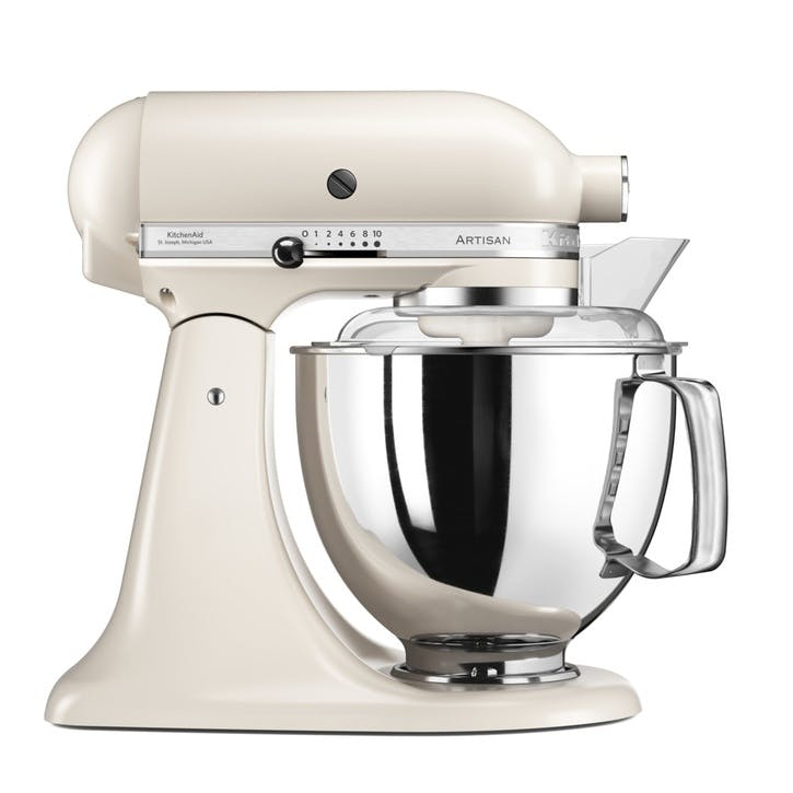 Artisan Stand Mixer with FREE 4.8L Glass Mixing Bowl, 4.8L, Cafe Latte