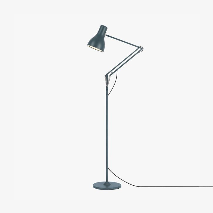 Floor Lamp Slate Grey