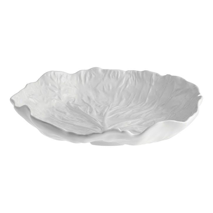 Cabbage Salad Bowl, 35cm, Beige