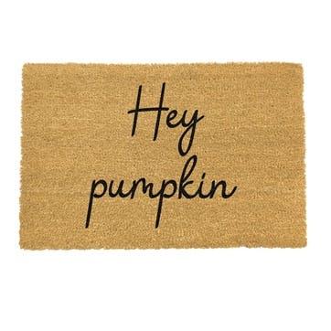 Hey Pumpkin Doormat