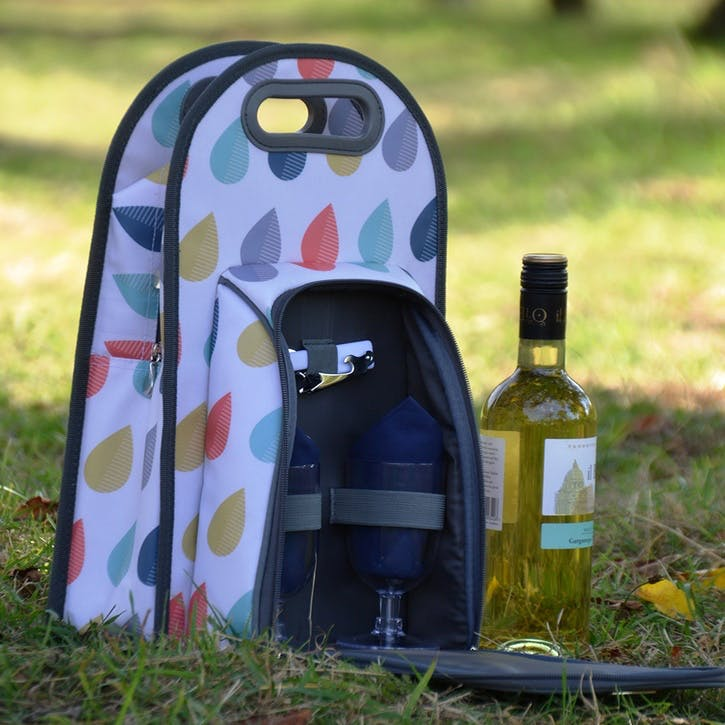 Beau & Elliot Raindrops Wine Carrier