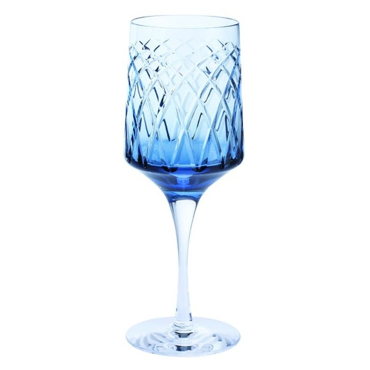 Harris Wine Goblet, Ink Blue