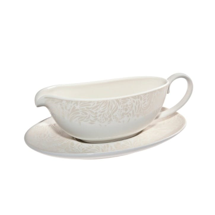Lucille Gold Sauce Boat and Stand, 300ml