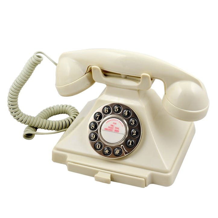 Carrington Telephone; Ivory