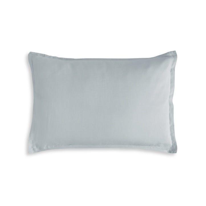 Moustier Oxford Pillowcase, King, Duck Egg