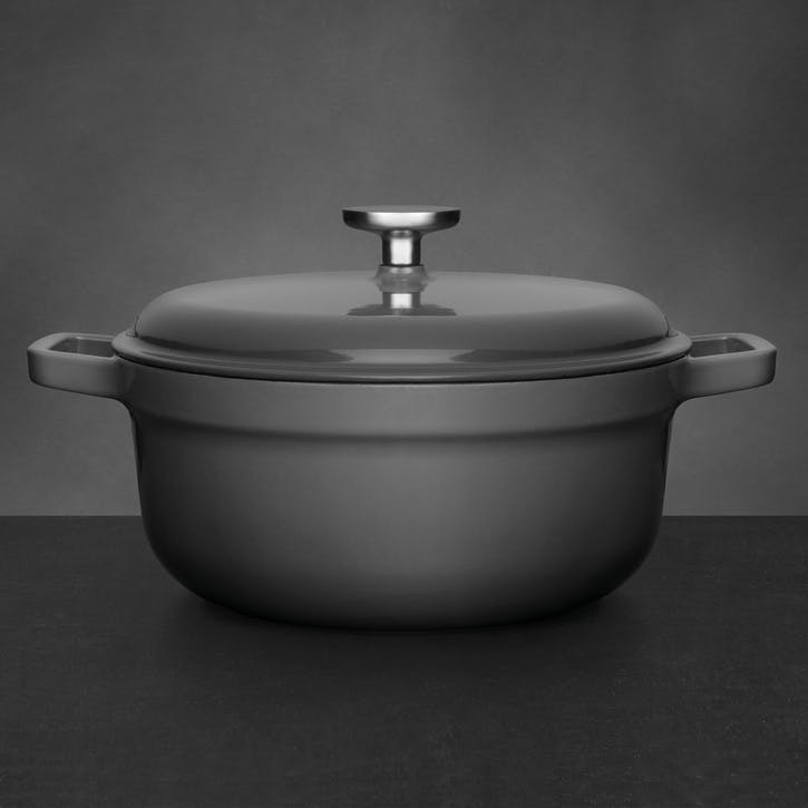 Gem, Cast Iron Covered Casserole, 24cm