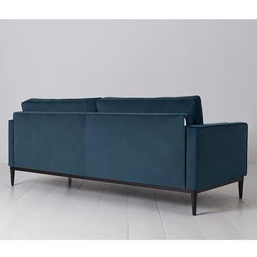 3 Seater Sofa, Model 02, Teal