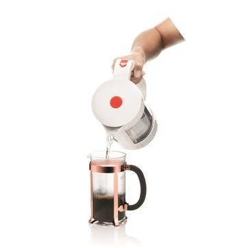 Chambord, 8 Cup Coffee Maker, 1 Litre, Copper