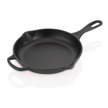 Cast Iron Skillet - 23cm; Satin Black