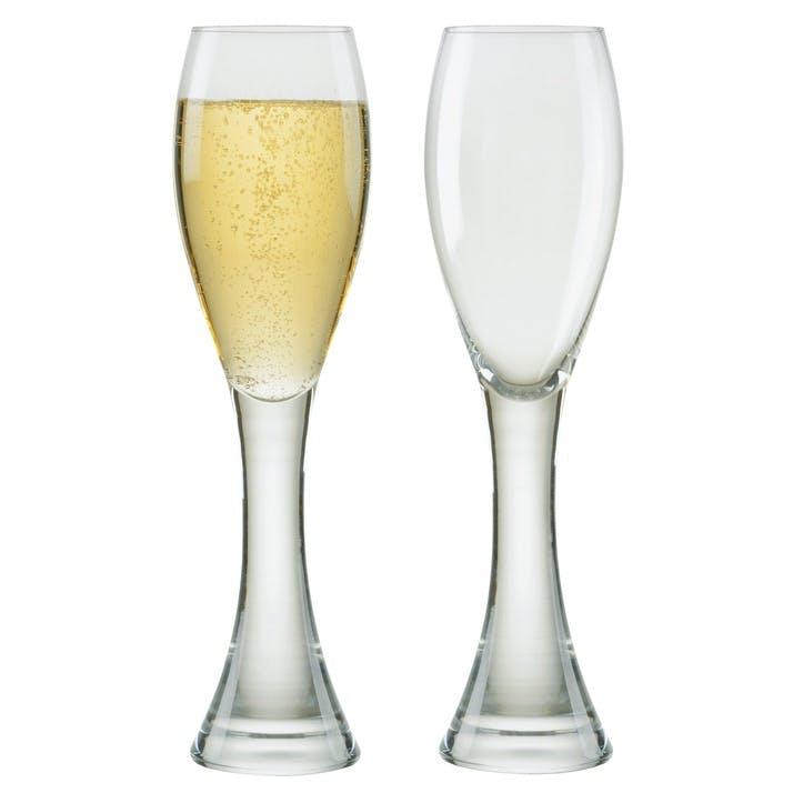 Manhattan Set of 2 Champagne Flutes