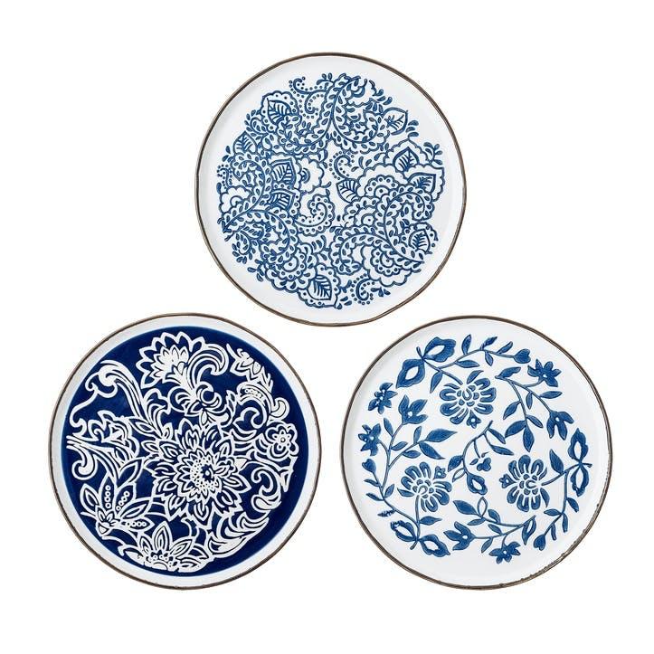 Molly Dinner Plate, Set of 3