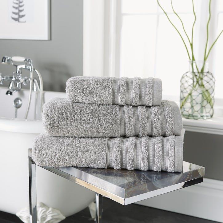 Revive Towel Bale, 3 Piece Set, Grey