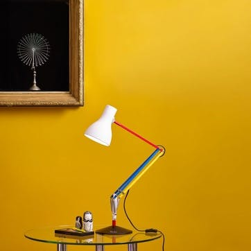 Type 75 Paul Smith Edition 3 Desk Lamp, Multicolours and White