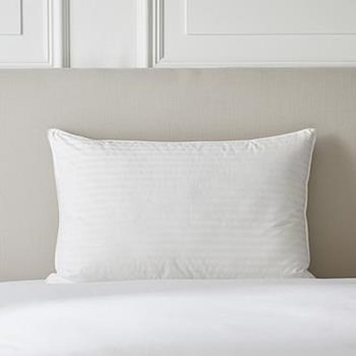 Hungarian Goose Down Support Pillow, Standard, Firm