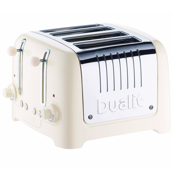 Lite Toaster - 4 Slot; Canvas White