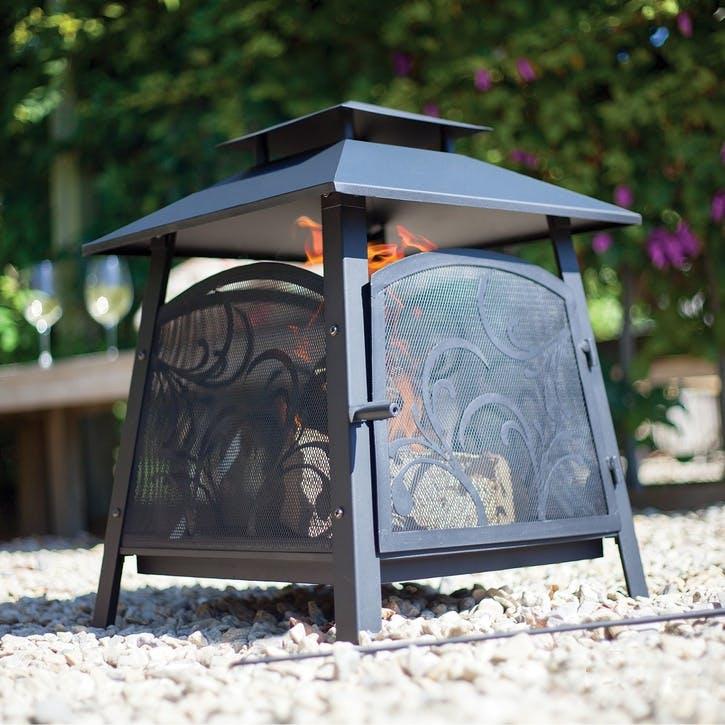Sakura Decorative Firebasket