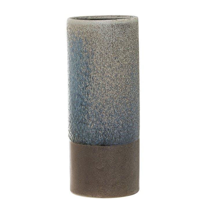 Dipped Stoneware Vase