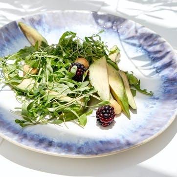 Brisa Blue Oval Serving Platter
